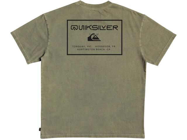 Quiksilver X Comp Camiseta Manga Corta Hombre, kalamata